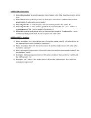 Additional Stock and CAPM questions.docx