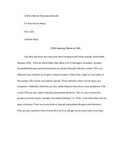 STD among teens in usa solution essay.docx
