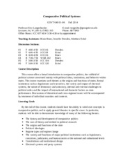 Syllabus CPS Fall 2014