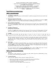 tarc fail coursework