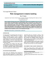 Risk management in Islamic banking 2013.pdf