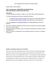 LearlineMcGee1-HI252 Unit 1 Assignment with Instructions - Template