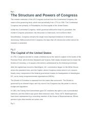 The Legislative Branch: Tutorial