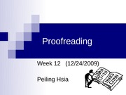 W12 - proofreading (brief) - handout