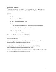 Lecture Notes G on General Chemistry