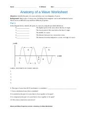 clem_waves_lesson02_worksheet - Name Date Anatomy of a ...