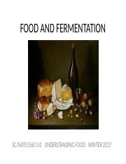 8 FOOD AND FERMENTATION