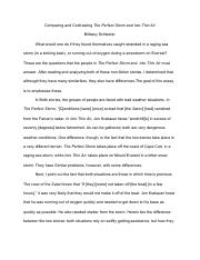 English Compare and Contrast Essay The Perfect Storm and Into Thin Air.pdf