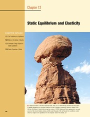 12 - Static Equilibrium and Elasticity