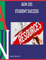 AUN 101 Resources FINAL JZ.pptx