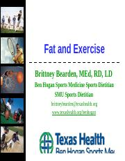 Fat and Exercise.pptx