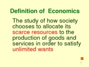 Microeconomics Introduction (Assignment)
