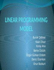Group1_Linear Programming
