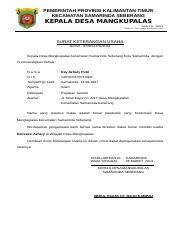 Surat Keterangan Usaha 2doc Pemerintah Provinsi