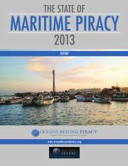 141007 State of Maritime Piracy 2013