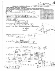 Graphing Functions Quiz
