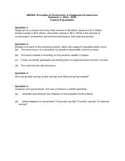 AB0901 S1 2014-15 Tutorial 9 Questions.doc