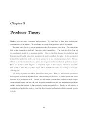 Notes on Microeconomic Theory - Miller 2