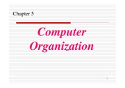 COS1521 Chapter 5 Computer Organization