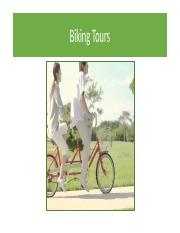 Biking Tours - Student
