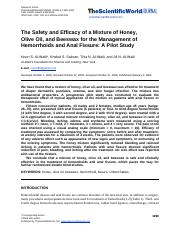The Safety and Efficacy of a Mixture of Honey, olive oil an beewax hermohoid buasir.pdf