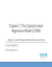 Chapter 2-4 - Unit of measurments and Functional Forms.pdf