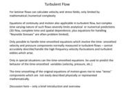 Turbulent Flow Overview