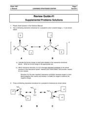 Review guide solutions #1