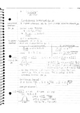 Pstats 109 Statistics for Economics_Pstat 109 Confidence Interval For u Notes