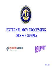 OTS_RSUP EXTERNAL MOV PROCESSING (6-5-18).ppt