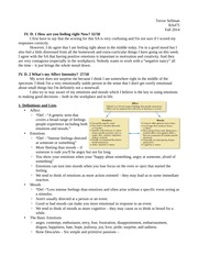 Chapter 4 notes assignment