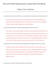 CHAPTER 12 FOCUS QUESTIONS.docx
