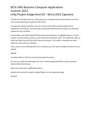 2013SU L04p Project Assignment 03 - Word 2013 Capstone.pdf