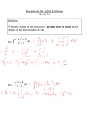 L16a - Integration by the Method of Partial Fractions _part 1_