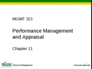 Ch1. 11 - Performance Management_w