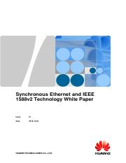 Synchronous Ethernet and IEEE 1588v2 Technology White Paper.pdf
