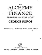The Alchemy of Finance - George Soros (1994).pdf