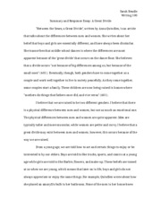 summary-and-response-essay-a-great-divide-essay-2