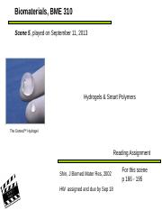 Scene 5 Sep 11 hydrogel smart polymers