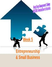 Week 5_Entrepreneurship and SME_1617