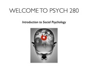 Lecture 1 Psych