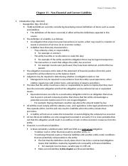 Chapter 13 - Student Notes -Non-Financial and Current Liabilities.doc