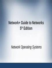 Network+ Guide to Networks 5th Edition ch09