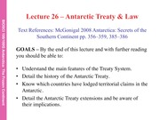 26 Antarctic treaty Lecture v2