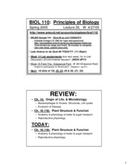biol110 Columbia college master syllabus for biol 110 includes course objectives, catalog description, required textbooks and prerequisite courses.