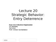 Lecture20_EntryDeterrence_Econ121_Fall2010 (2)