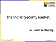 indiansecuritymarket-091130034635-phpapp01
