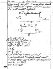 2.  Second Order Circuits Lecture