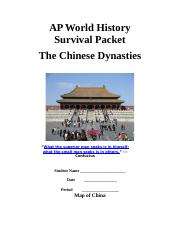 Survival_Packet-_Chinese_Dynasties.doc