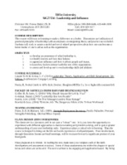 MGT531 syllabus spring 2013 sections 90 91 (1)